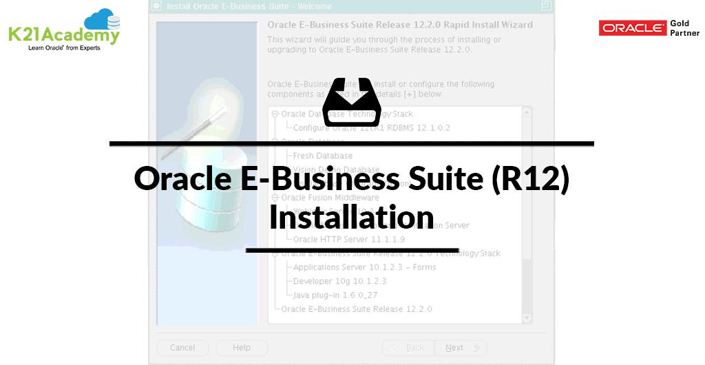 EBS R12 Installation