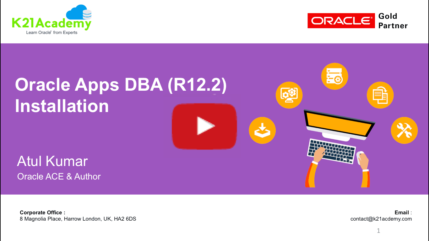 [video] Oracle Apps Dba (r122) Installation  Free. One Or Two Page Resume. Objective In A Resume. Career Development Resume. Film Resume Example. Resumes For Retail. Good Fonts For Resume. Email Content For Resume Sending. Waitress Job Description Resume