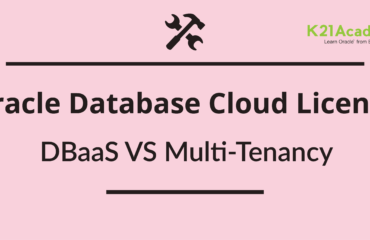 Licence/Price for Oracle Database Cloud : DBCS/DBaaS vs Multitenant Service