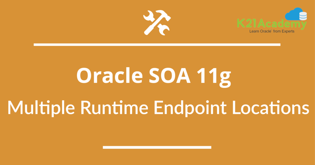 Oracle SOA 11g: Multiple Runtime Endpoint Locations for Partner Link