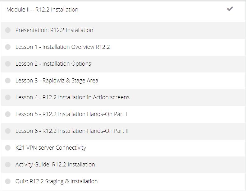 AppsDBA Course Module2
