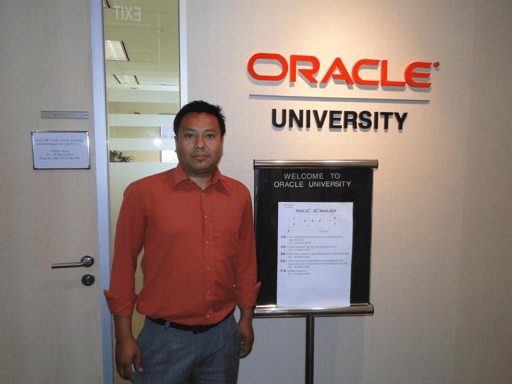 Dilli Raj Maharjan – Cloud DBA
