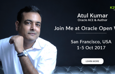 Join Me At Oracle Open World #OOW17 San Francisco (SFO)