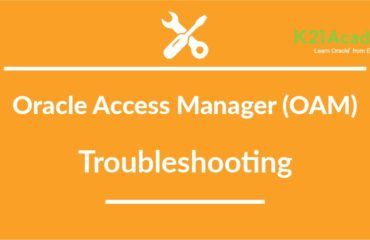 Oracle Access Manager (OAM) Troubleshooting: WebLogic Server: unable to get file lock will retry