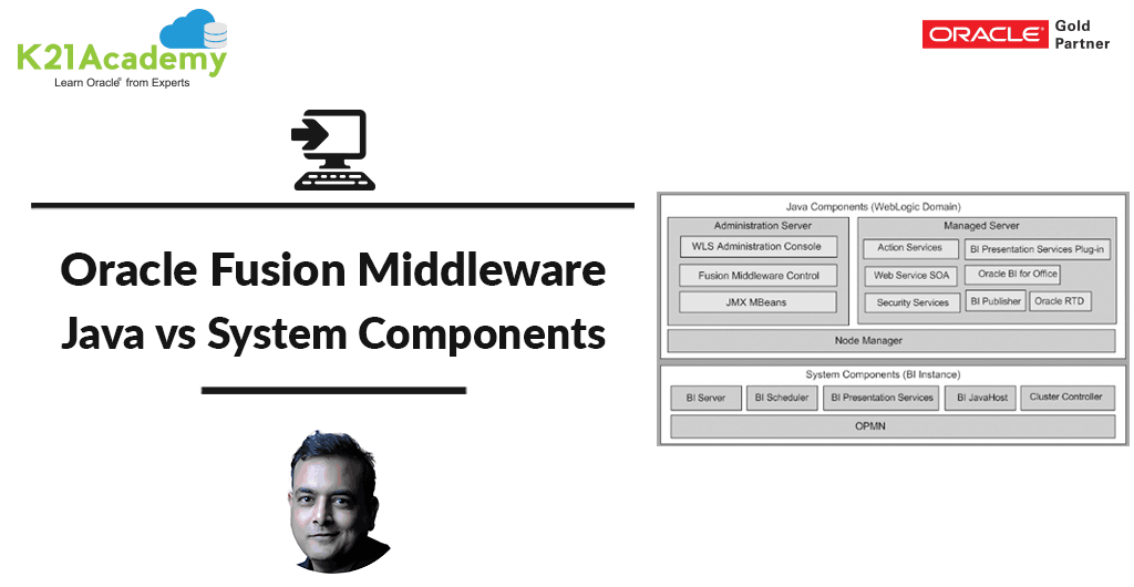 [Video] Oracle Fusion Middleware: Overview & System VS Java Components [Part I]