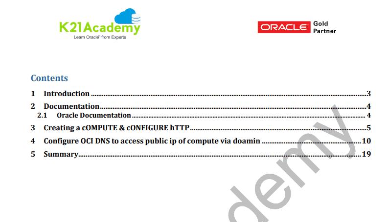 AG8 OCI Create & Configure DNS, OCI DNS