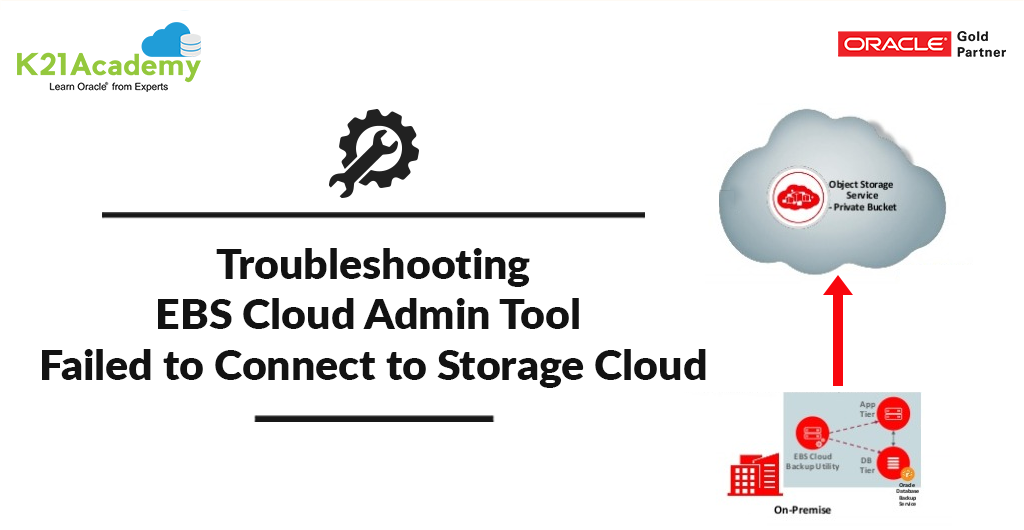 Oracle EBS Cloud Admin Tool Issue : FATAL: Failed to Connect to ...