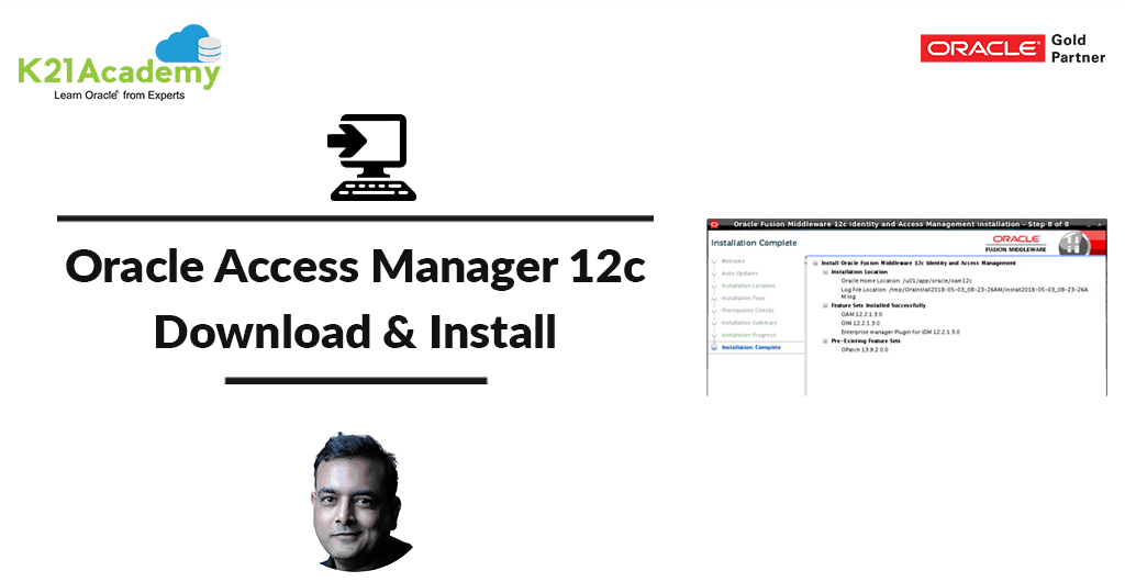 Oracle Access Manager 12c (12 2 1 3 0): Download & Installation