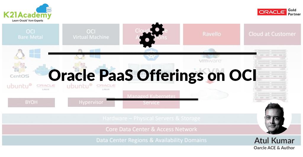 Oracle PaaS Offerings on OCI