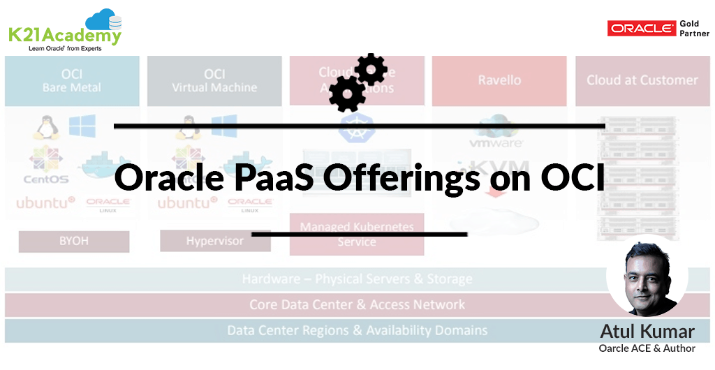 Oracle PaaS Offerings on Oracle Cloud Infrastructure (OCI)