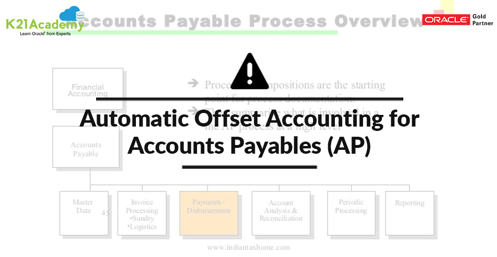 Automatic Offset Accounting for Account Payables (AP)