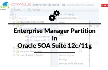 Enterprise Manager Partition in Oracle SOA Suite 12c/11g
