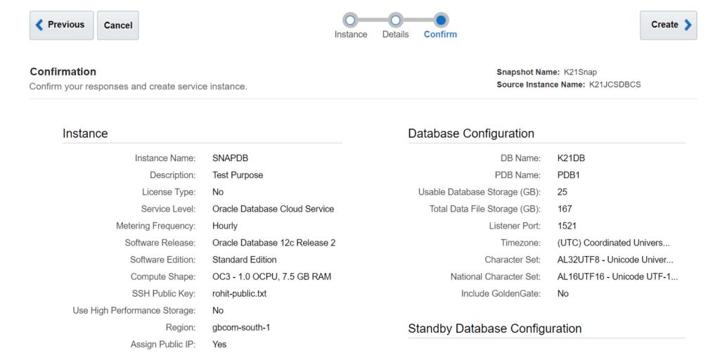 Cloud Database Summary