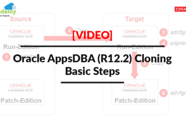 [Video] Oracle Apps DBA (R12.2) Cloning: Basic Steps