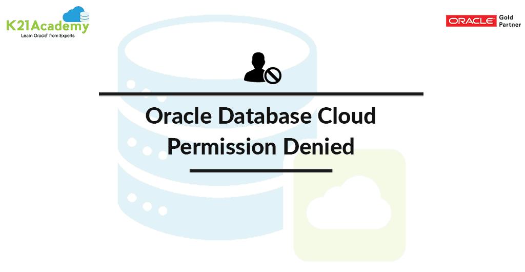 Oracle Database Cloud: Permission denied (publickey,gssapi
