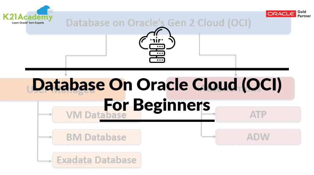 Database In OCI