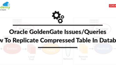 Oracle GoldenGate: How to replicate compressed table in database