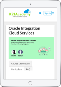 Oracle Integration Cloud Services OIC Community