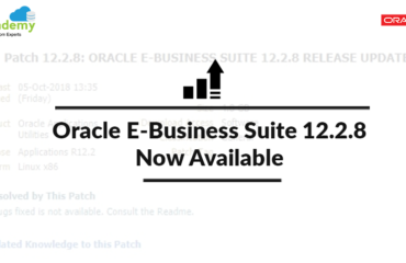 Oracle E-Business Suite (EBS) 12.2.8 Now Available: Documentation & Download Software