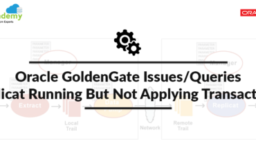 Oracle GoldenGate: Replicat running but not applying transactions