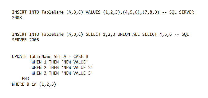 Avoid Coding Loops