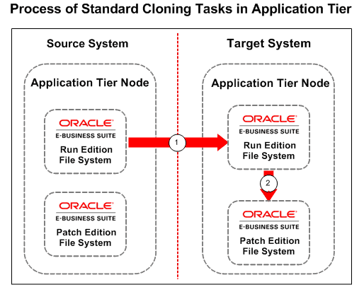 Process of Standard Cloning Task