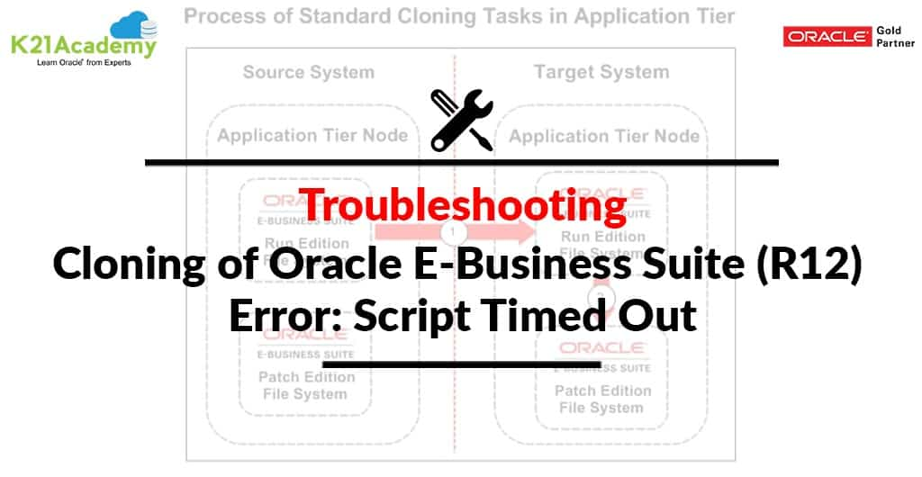 [Solved] Oracle E-Business Suite (R12) Cloning Issue: ERROR: Script timed out