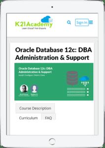 DBA12c Tablet image