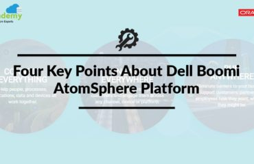 Four Key Points About Dell Boomi AtomSphere Platform