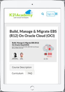 EBS On OCI Tablet image
