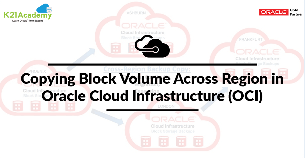 Copying Block Volume Across Region in Oracle Cloud Infrastructure (OCI)