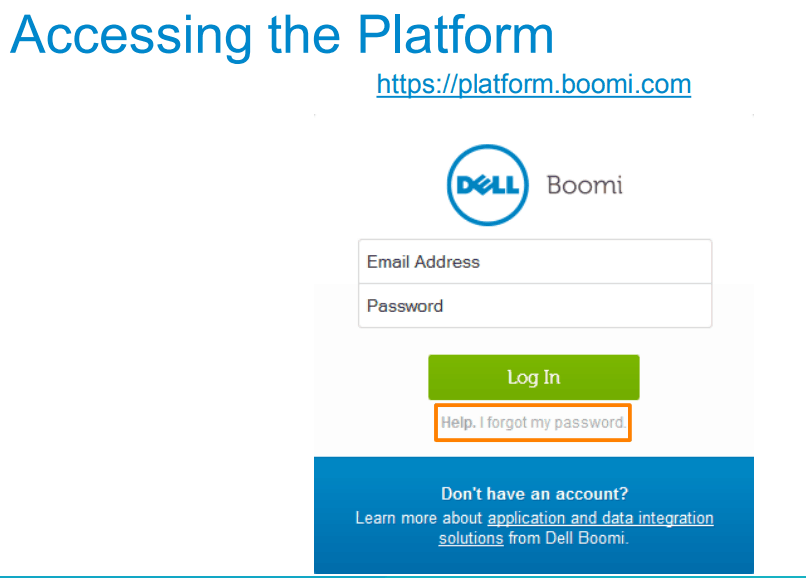 How to Access the Platform