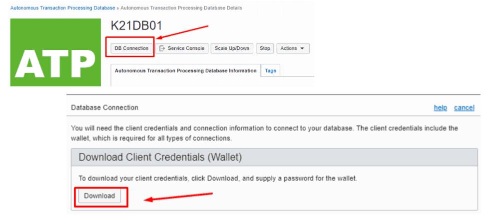 Connecting Autonomous Database