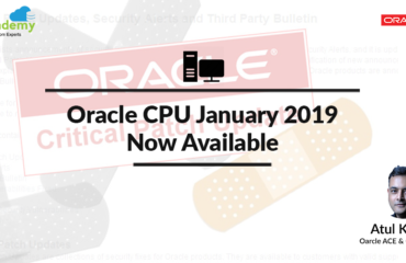 Oracle Critical Patch Update (CPU) January 2019 Now Available