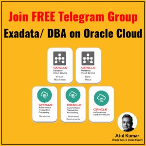 Cloud DBA Telegram Group