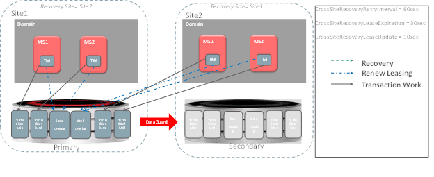 Cross Site Transaction Recovery