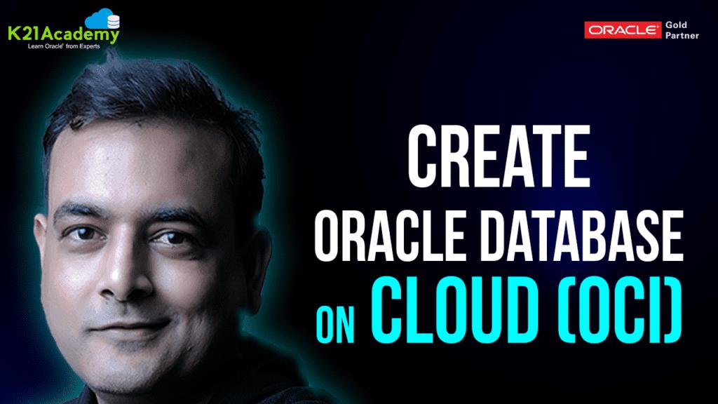 Database in OCI Gen2 Cloud