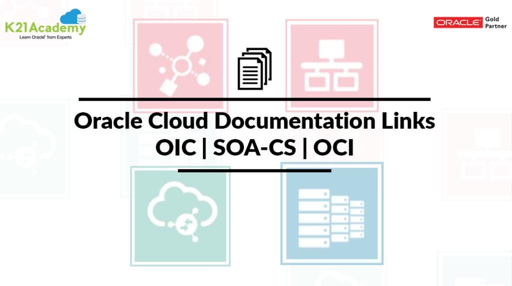 Oracle Cloud Documentation Links