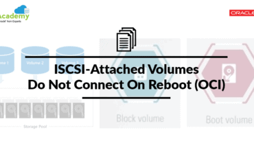 ISCSI-Attached Volumes Do Not Connect On Reboot (OCI)