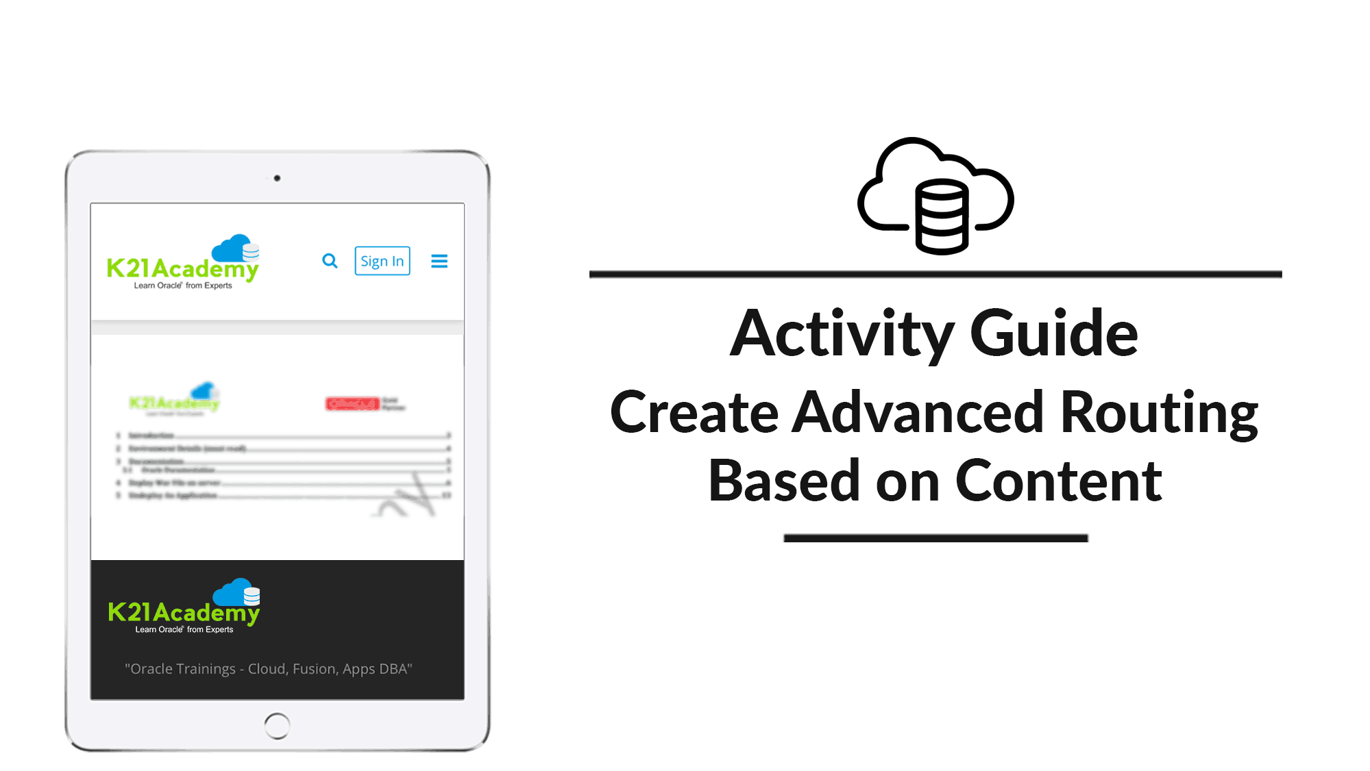 Create Advanced Routing Based On Content