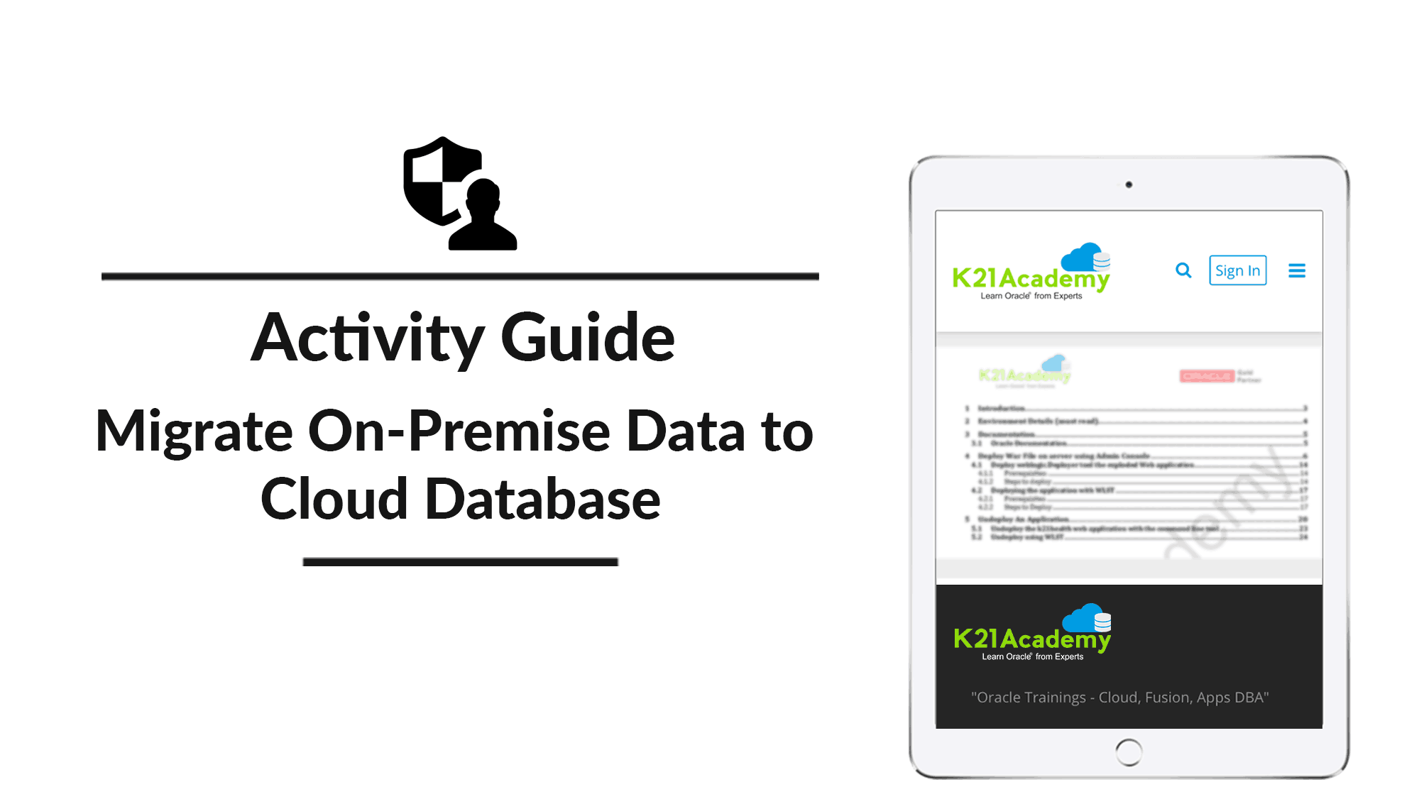 Migrate On-Premises Data To Cloud Database
