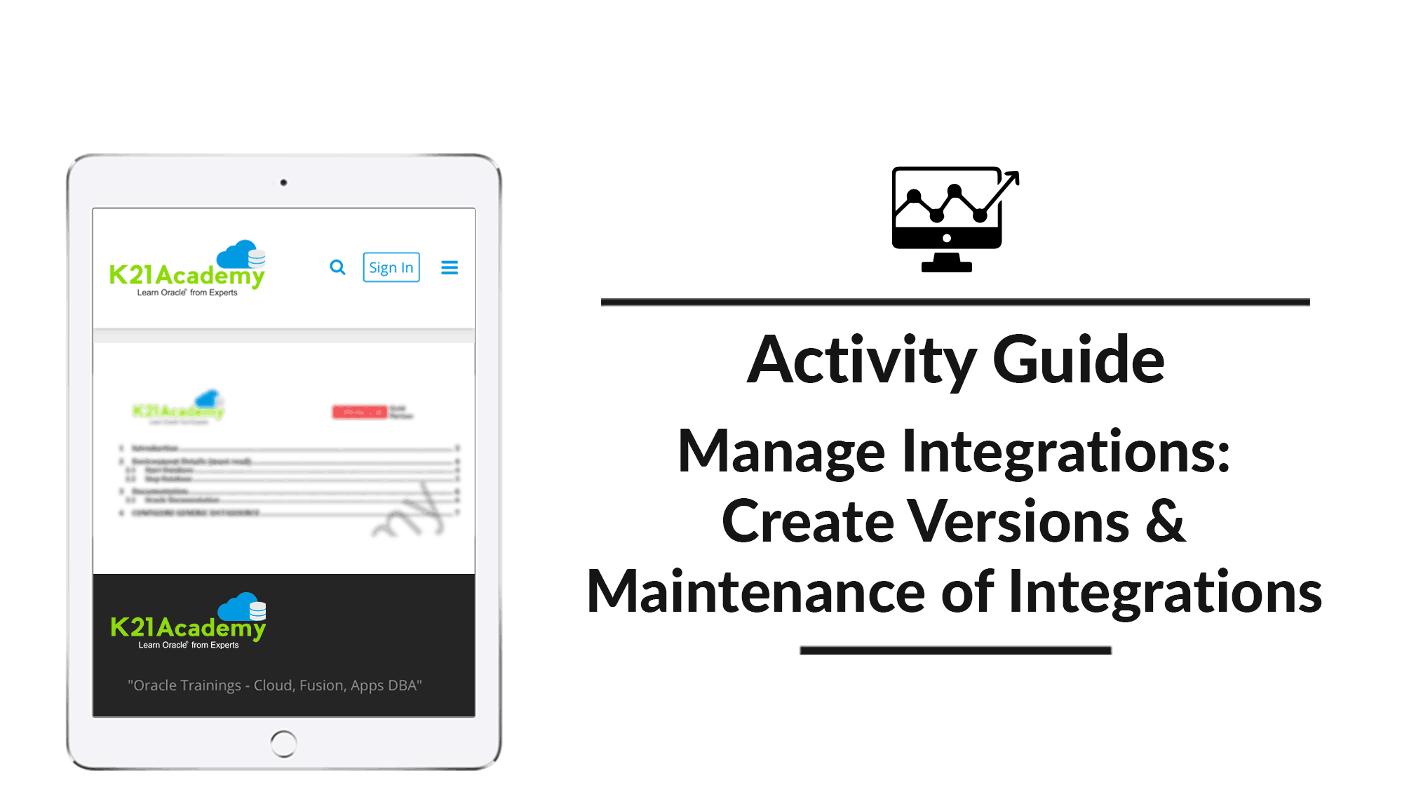 Manage Integrations: Create versions & Maintenance of Integrations