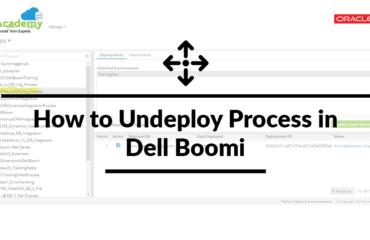 How to Undeploy Process in Dell Boomi