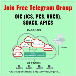 Oracle Integration Telegram Group