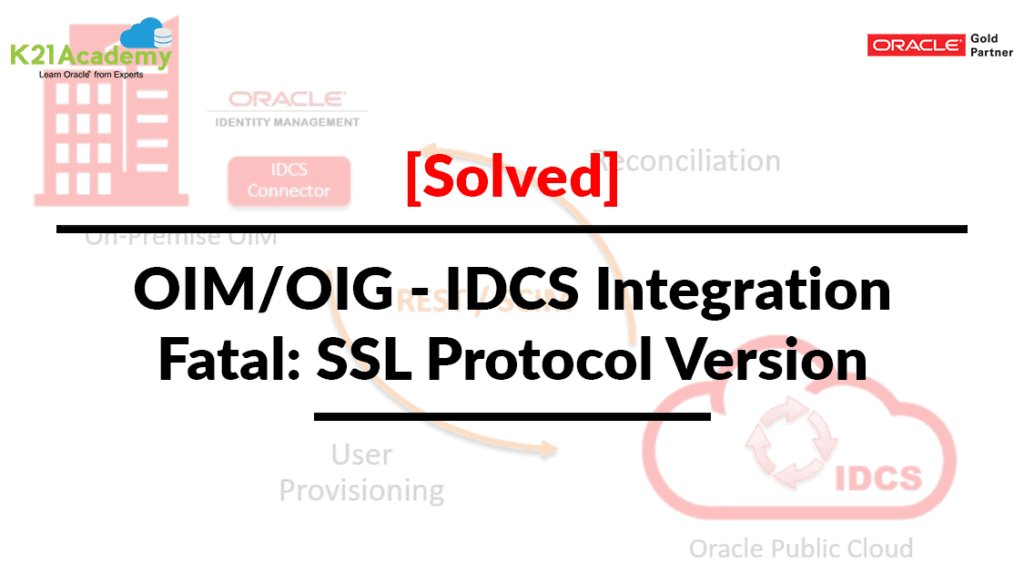 OIM IDCS Connector