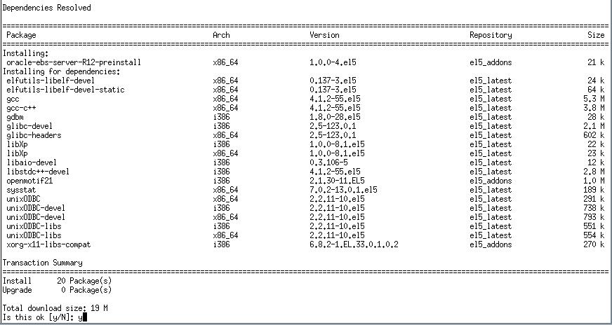 Oracle E-Buisness Suite R12 RPMs