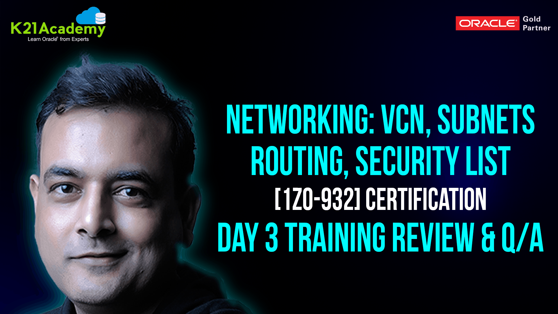 [Q/A] Oracle Cloud Infrastructure Architect Training Day 3: Networking (VCN, Subnets, Gateways, Route Tables, Security List)
