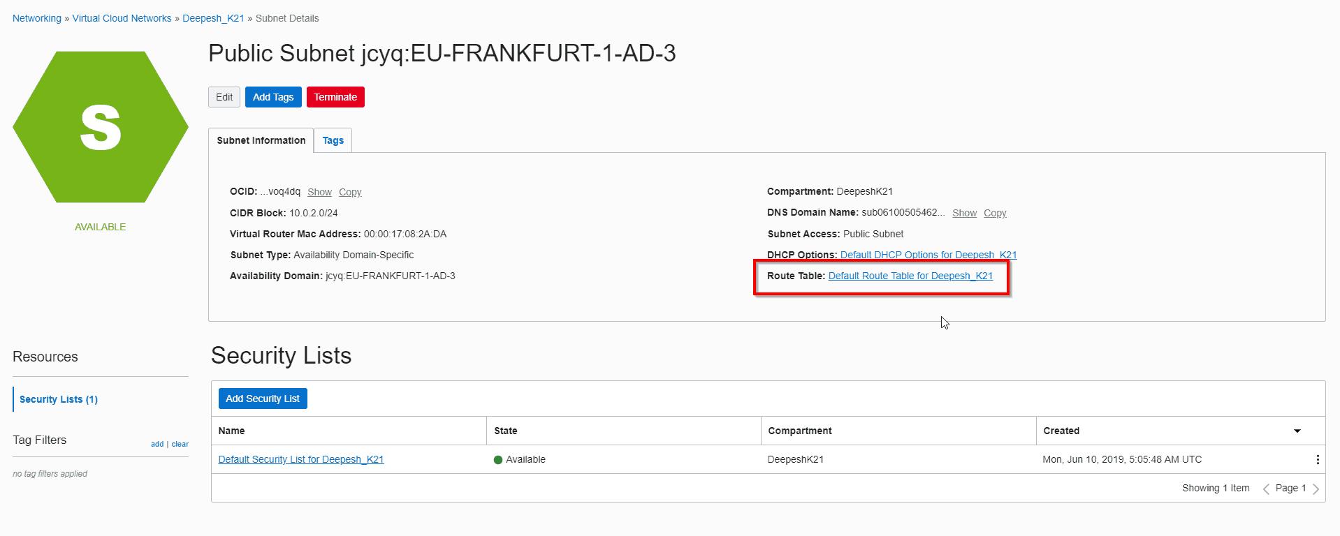 subnet_routetable