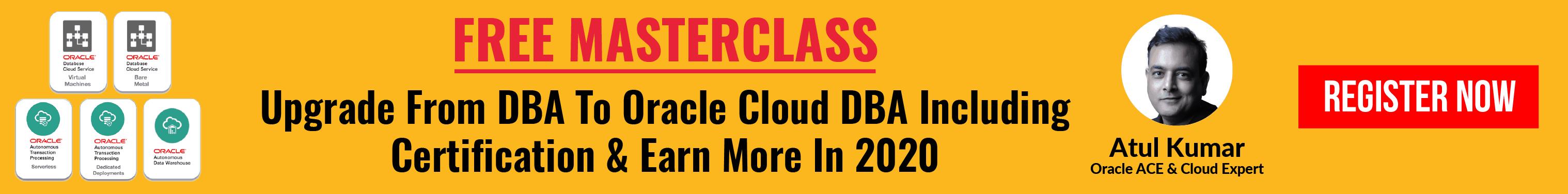 DBA to Cloud DBA