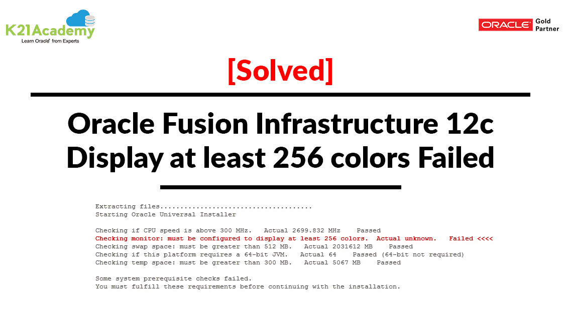 Solved] Oracle Fusion Infrastructure 12c:Display at least